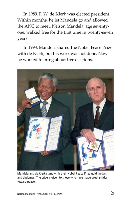 Book Preview For Nelson Mandela Page 21