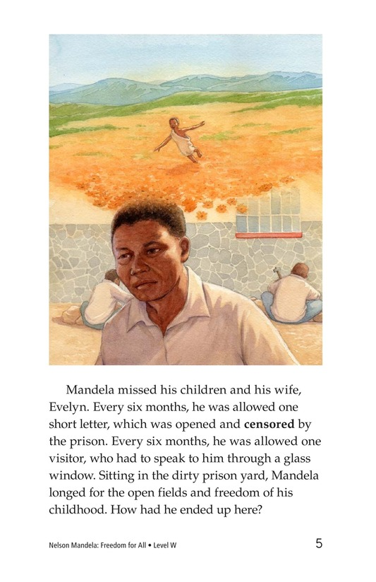 Book Preview For Nelson Mandela Page 5