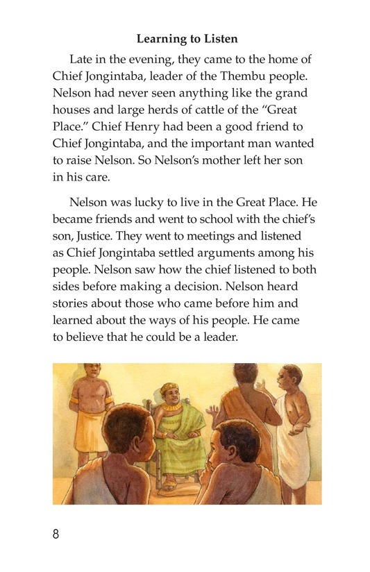 Book Preview For Nelson Mandela Page 8