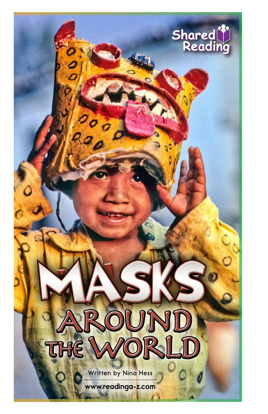 Book Preview For Masks Around the World Page 1