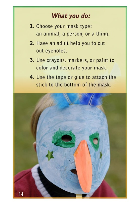 Book Preview For Masks Around the World Page 14