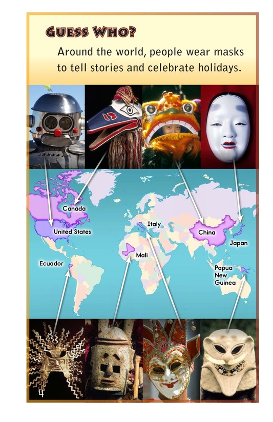 Book Preview For Masks Around the World Page 4