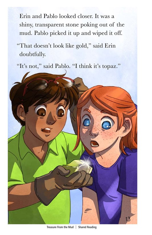 Book Preview For Treasure From the Mud Page 13