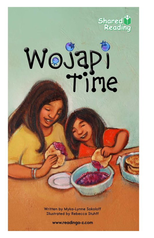 Book Preview For Wojapi Time Page 1