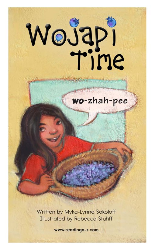 Book Preview For Wojapi Time Page 2