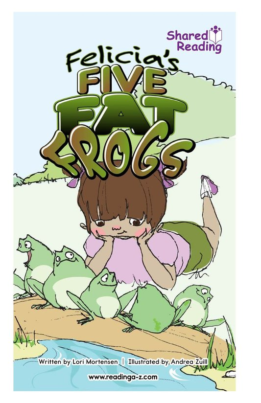 Book Preview For Felicia's Five Fat Frogs Page 1