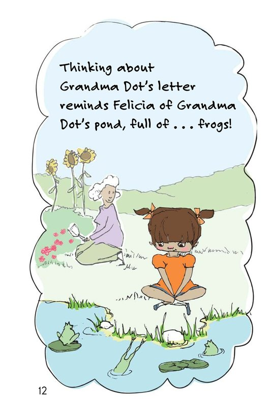 Book Preview For Felicia's Five Fat Frogs Page 12