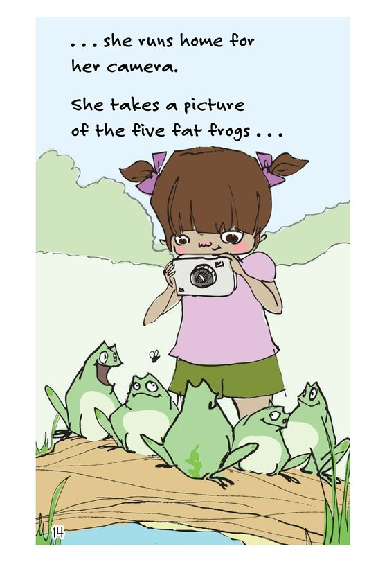 Book Preview For Felicia's Five Fat Frogs Page 14