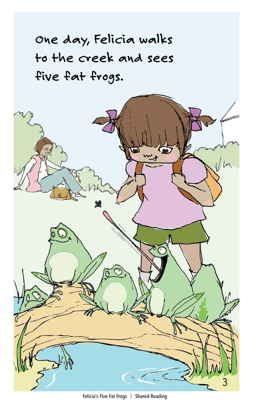 Book Preview For Felicia's Five Fat Frogs Page 3