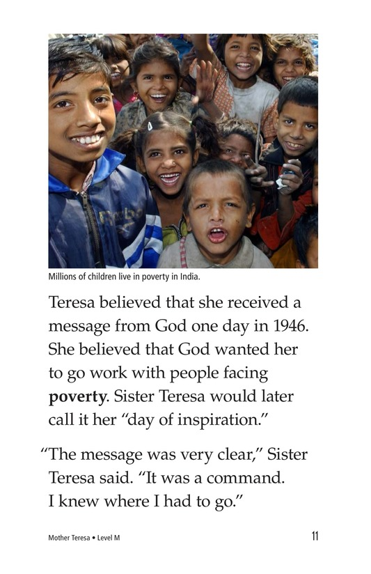 Book Preview For Mother Teresa: Mother to Many Page 11