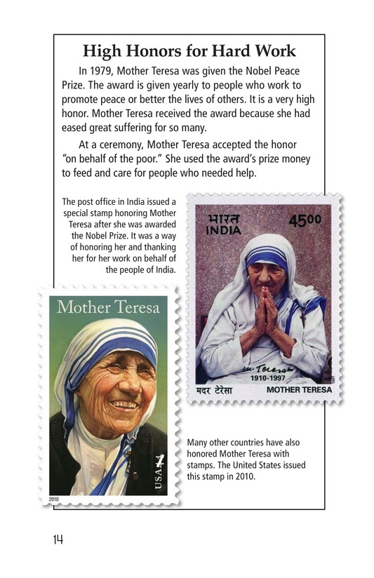 Book Preview For Mother Teresa: Mother to Many Page 14