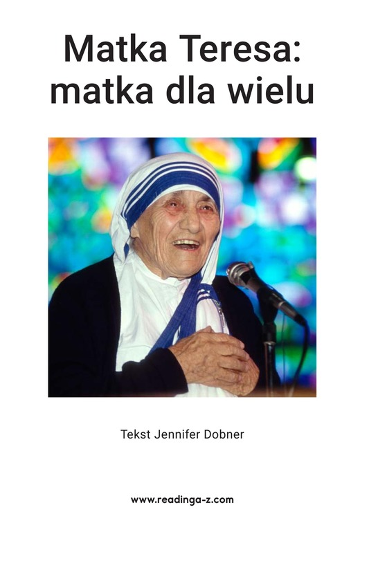 Book Preview For Mother Teresa: Mother to Many Page 2