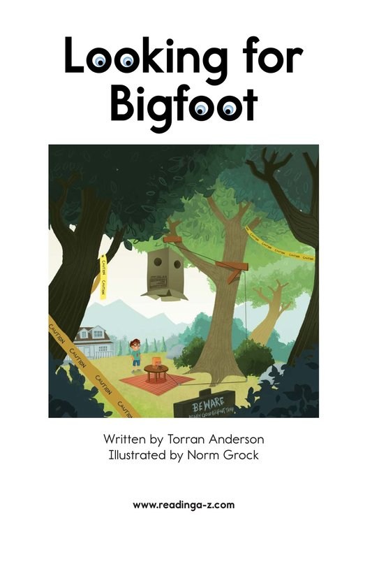 Book Preview For Looking for Bigfoot Page 2