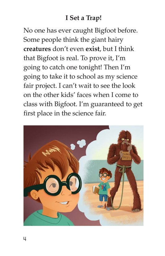 Book Preview For Looking for Bigfoot Page 4