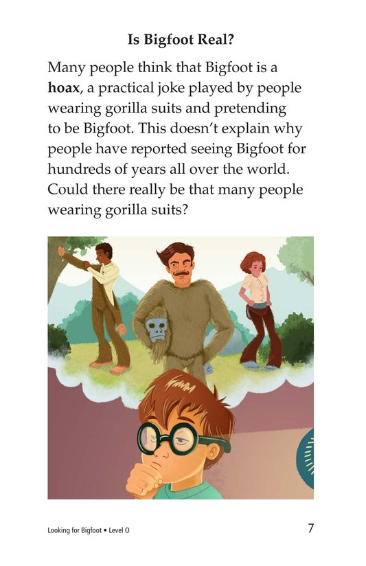 Book Preview For Looking for Bigfoot Page 7