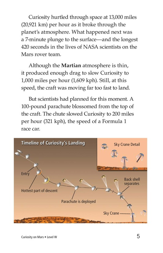 Book Preview For Curiosity on Mars Page 5