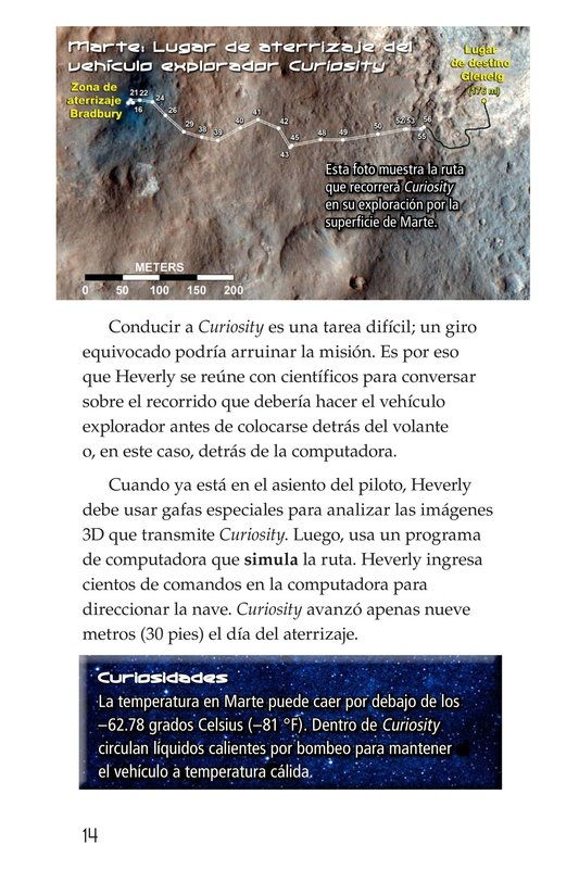 Book Preview For Curiosity on Mars Page 14
