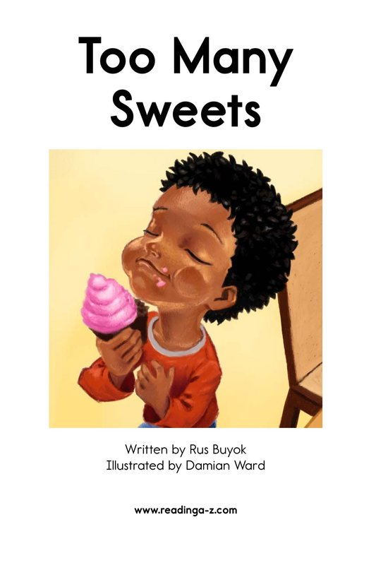 Book Preview For Too Many Sweets Page 2
