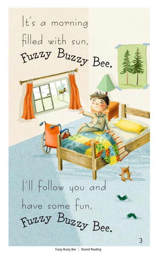 Book Preview For Fuzzy Buzzy Bee Page 3