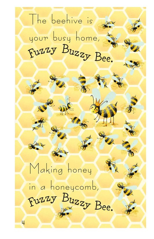 Book Preview For Fuzzy Buzzy Bee Page 4