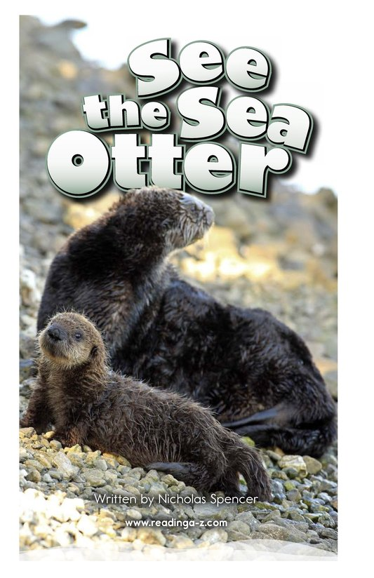 Book Preview For See the Sea Otter Page 2