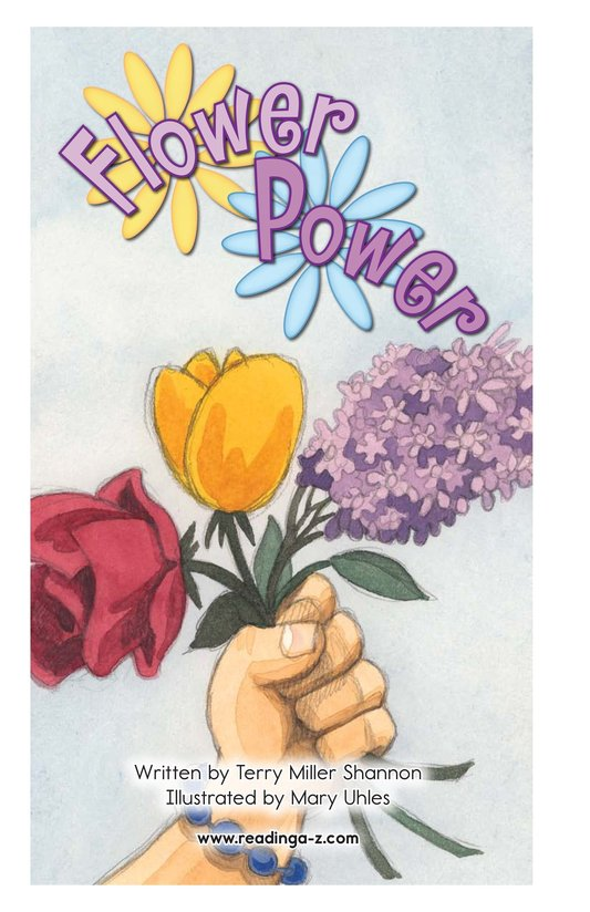 Book Preview For Flower Power Page 2