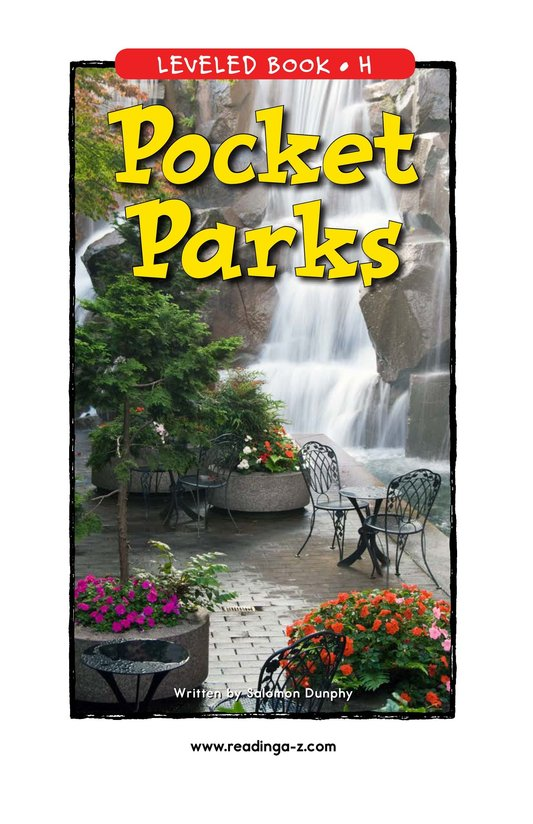 Book Preview For Pocket Parks Page 1