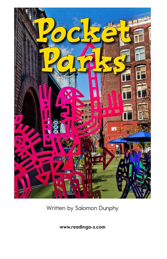 Book Preview For Pocket Parks Page 2