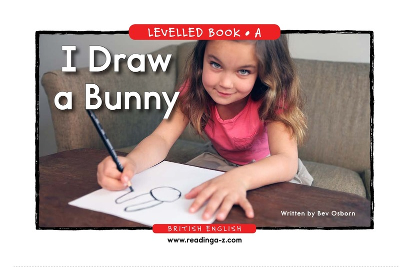 Book Preview For I Draw a Bunny Page 1