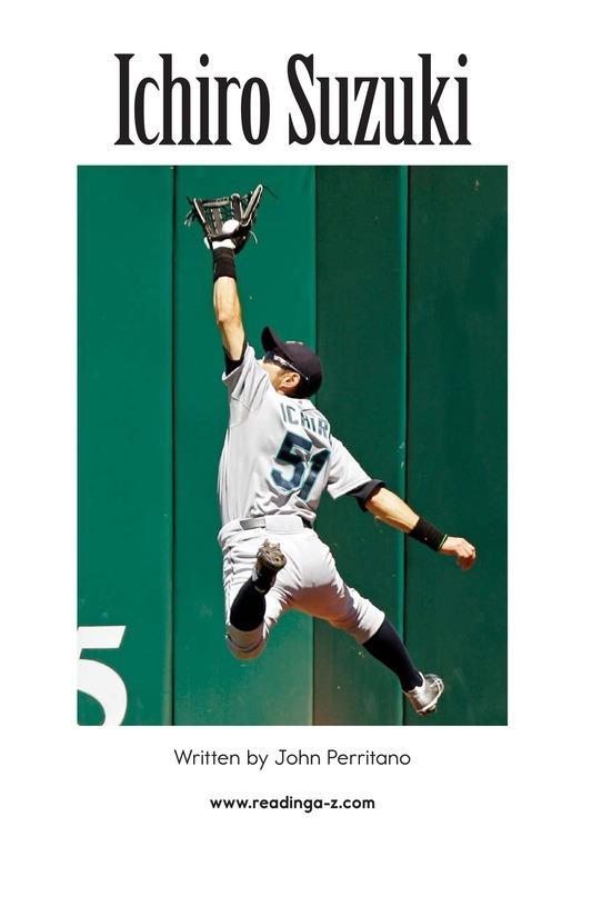 Book Preview For Ichiro Suzuki Page 2