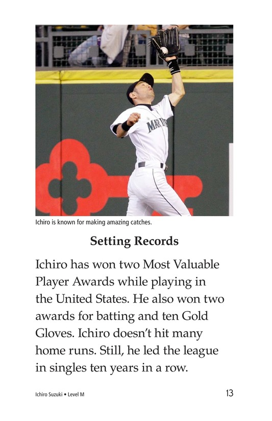 Book Preview For Ichiro Suzuki Page 13