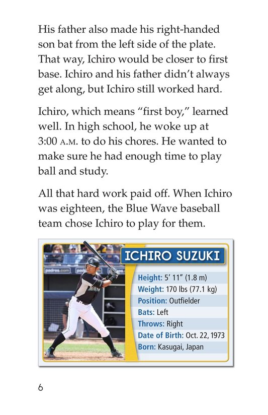 Book Preview For Ichiro Suzuki Page 6