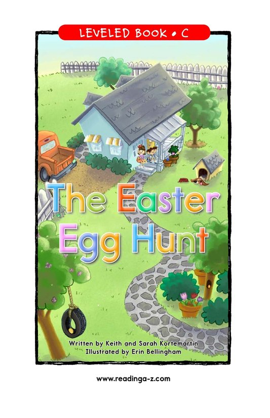 Book Preview For The Easter Egg Hunt Page 1
