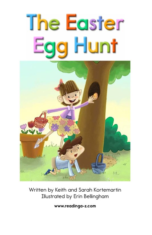Book Preview For The Easter Egg Hunt Page 2