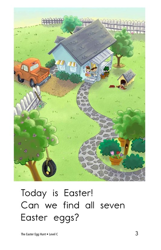 Book Preview For The Easter Egg Hunt Page 3