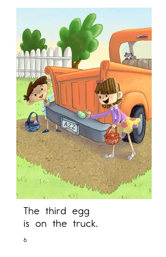 Book Preview For The Easter Egg Hunt Page 6