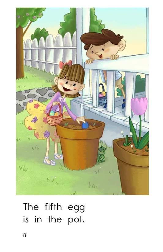 Book Preview For The Easter Egg Hunt Page 8