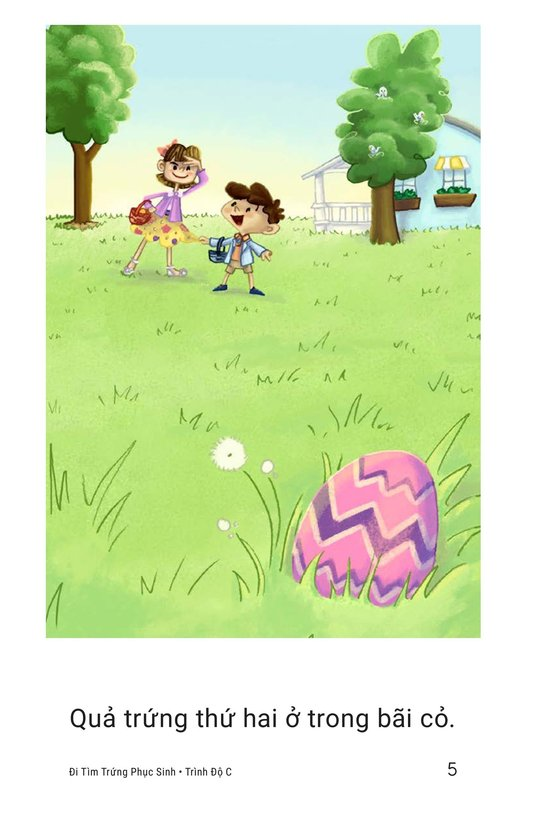 Book Preview For The Easter Egg Hunt Page 5