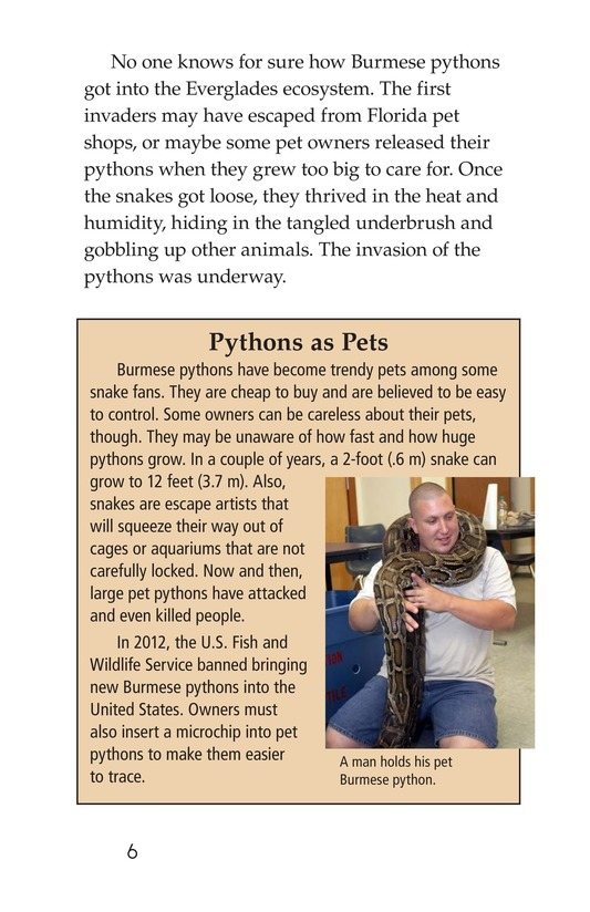 Book Preview For Invasion of the Pythons Page 6