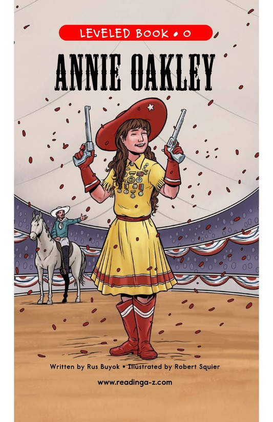 Book Preview For Annie Oakley Page 1
