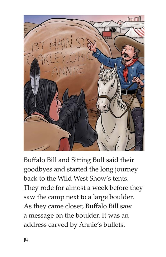Book Preview For Annie Oakley Page 14