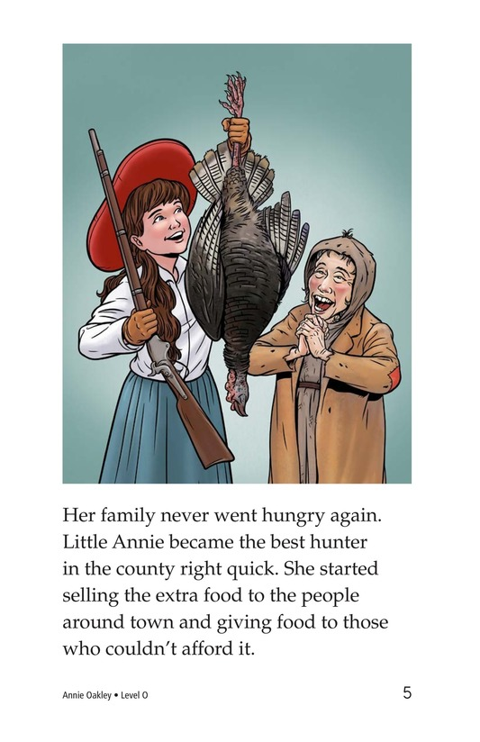 Book Preview For Annie Oakley Page 5