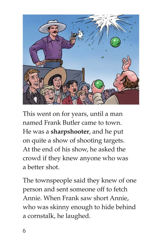 Book Preview For Annie Oakley Page 6