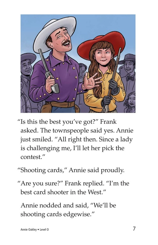 Book Preview For Annie Oakley Page 7