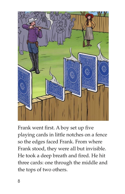 Book Preview For Annie Oakley Page 8