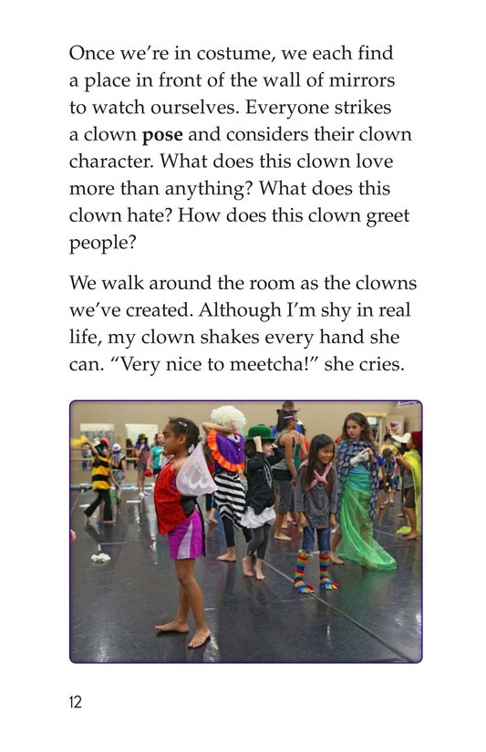 Book Preview For Off to Join the Circus Page 12