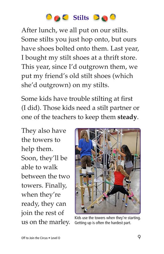 Book Preview For Off to Join the Circus Page 9