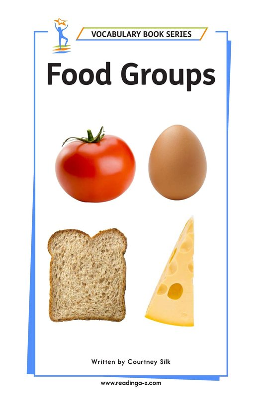 Book Preview For Food Groups Page 1