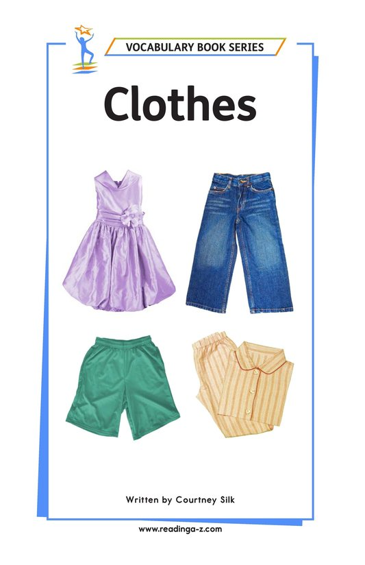 Book Preview For Clothes Page 1
