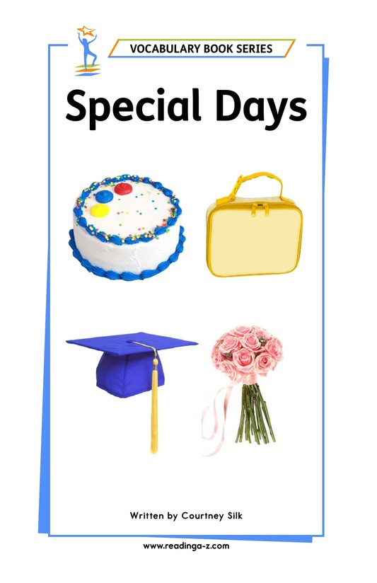 Book Preview For Special Days Page 1